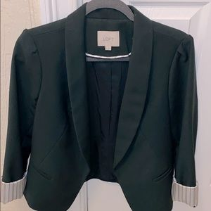 Hunter green blazer
